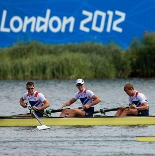Great Britain claimed silver in the final of the lightweight men's four at Eton Dorney