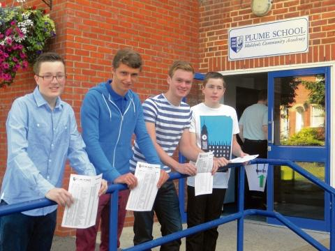 Maldon: Plume School celebrates record results