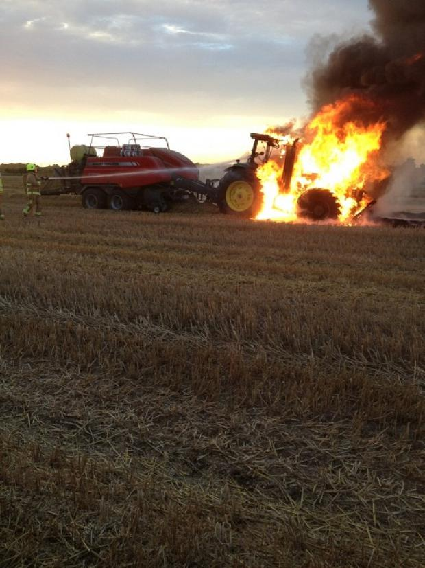Tillingham: Farm blaze treated as suspicious