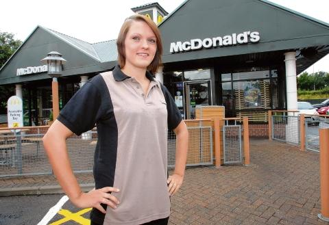 Heybride: Fast-food worker sheds the pounds