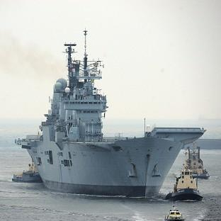 HMS Ark Royal saw action during the Bosnian War in 1993 before being sent