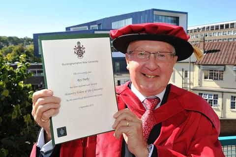 Maldon: Jolly good fellow is awarded by university
