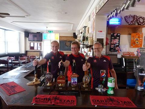 Cold Norton: Pub volunteers help out at Olympics