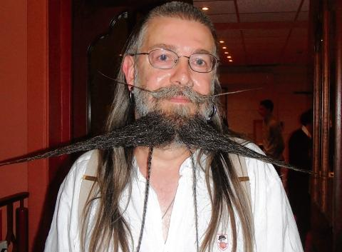 Maldon: UK beard champ is thrilled with award