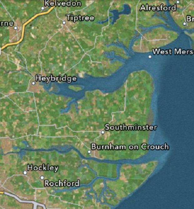 Maldon: How dis-app-ointing! Apple leaves Maldon off the map