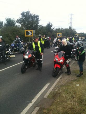 Maldon district: Hundreds hit road to remember Brad and Abbey