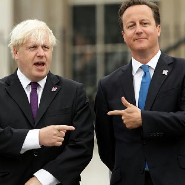 Polls have suggested London Mayor Boris Johnson outstrips Prime Minister David Cameron in public popularity