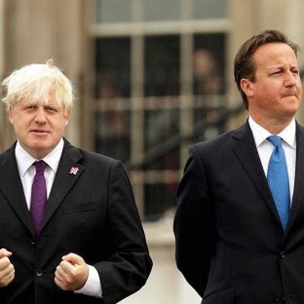 David Cameron said Boris Johnson 'is doing a great job'
