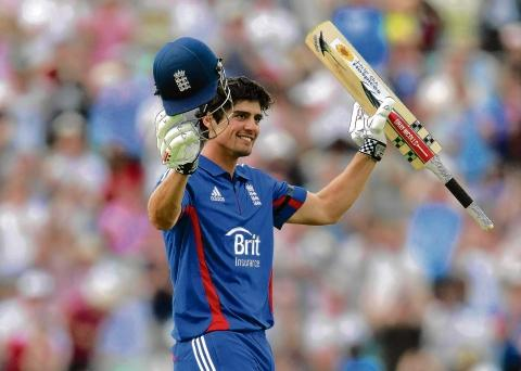 Essex and England's Alastair Cook