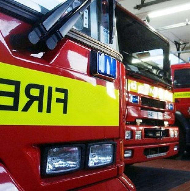 A blaze in Harlow has killed four children and left a woman and a fifth child in a critical condition