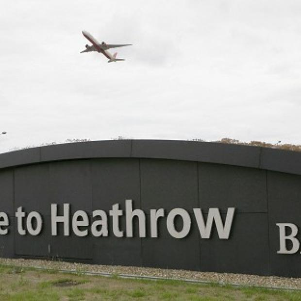A man arrested at Heathrow Airport has been charged with an alleged terrorist offence in Syria