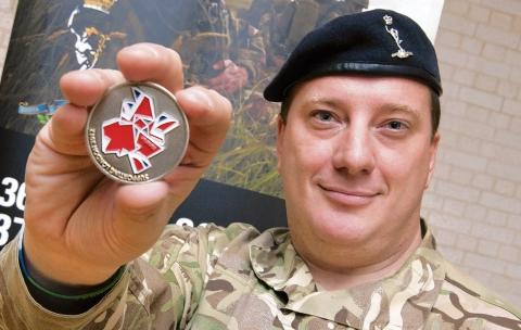 Maldon: Soldier Kevin recognised for Games service