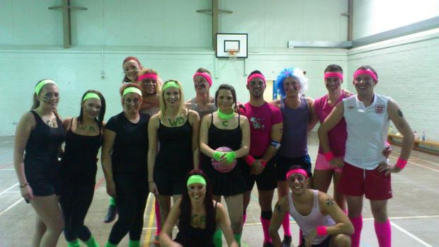Maldon: Leisure centre staff take to the court for charity