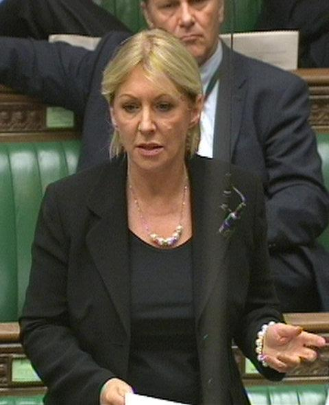 Nadine Dorries is battling it out in the jungle.