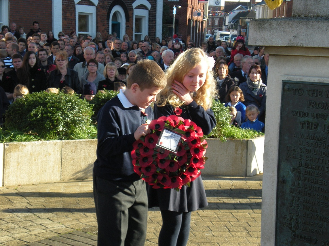Burnham: Town is united in memory of heroes