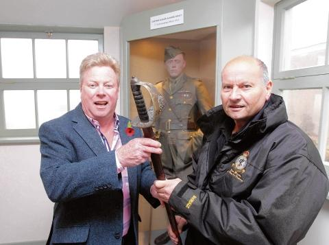 Stow Maries: Sword donation a legacy of heroic flight commander
