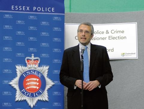 Conservative candidate, Nick Alston, has been elected Essex Police and Crime Commissioner.
