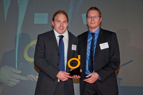 Bradwell: Simon wins engineer of the year award
