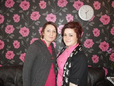 Amber Hook and Mandy Lodge, of Matrix Hair Art, are worried about the impact the vandalism will have on their business