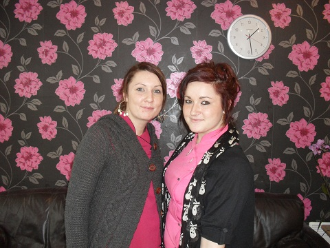 Amber Hook and Mandy Lodge, of Matrix Hair