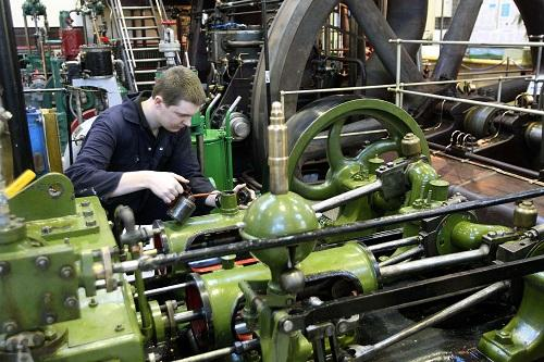 Langford: Engines were the stars of the show at museum open day