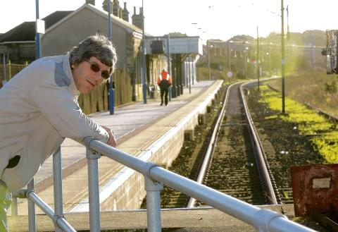 Paul Turvey at Harwich Town train station who believes the new policy is ridiculous