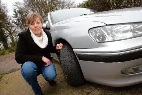 Gill Winsor, of Snoreham Gardens, Latchingdon, is calling for the roads to be resurfaced