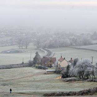 Many parts of the country will struggle to see temperatures rise above freezing