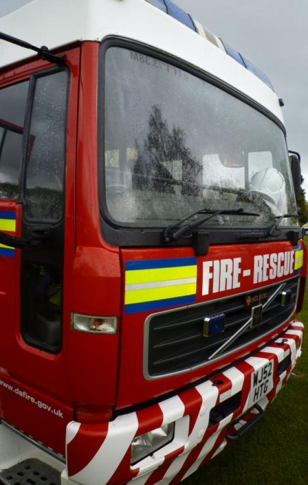 Mayland: Fire crews cut woman from car