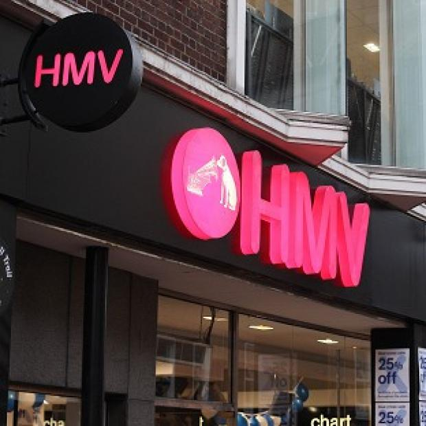 The HMV shops will continue to trade but the closures are expected over the next one to two months