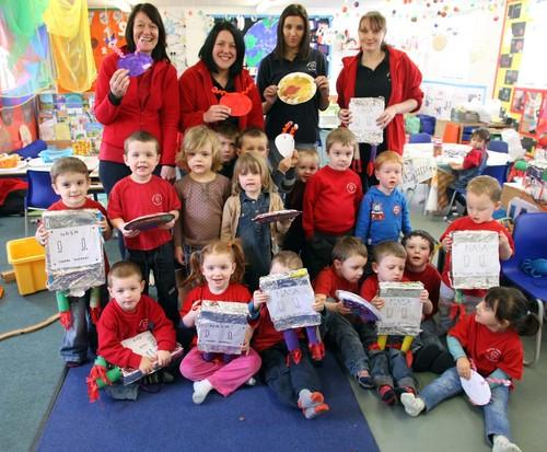 Maldon: Kids blast off to space
