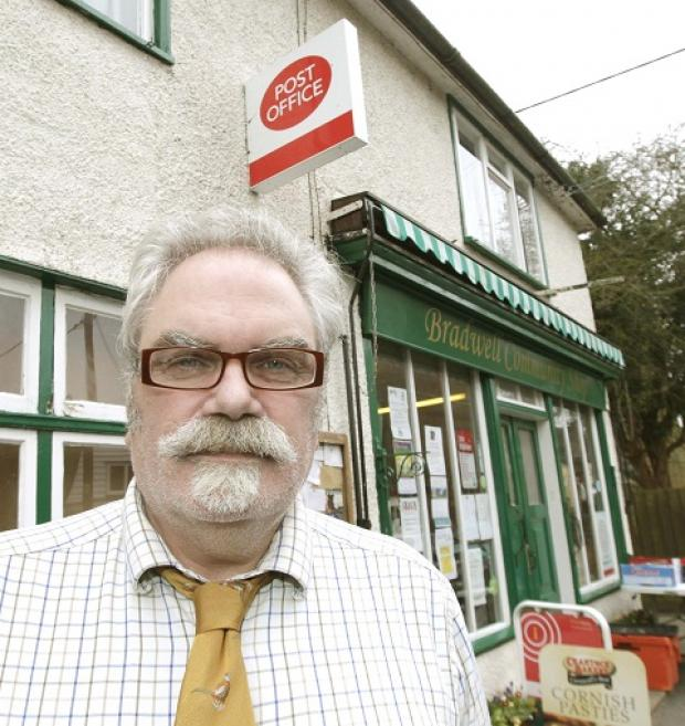 Post Office manager Steve Tachauer is thrilled it will not close