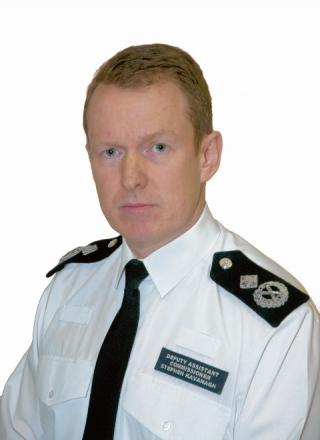 Stephen Kavanagh, the new chief constable of Essex Police.