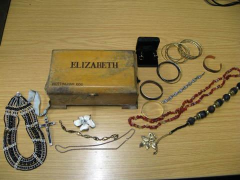 Sible Hedingham: Is this jewellery yours?