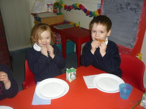 Burnham: Pancake treat for pupils