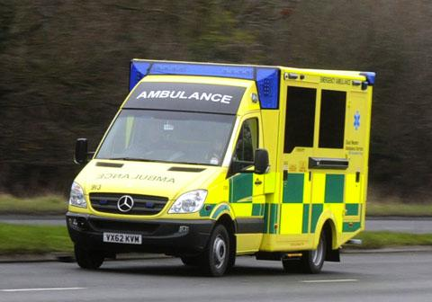 Tiptree: Man suffers chest injuries in crash