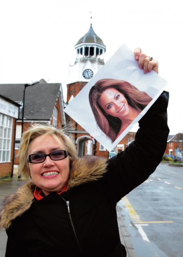 Caroline Sarychkin, of Burnham Carnival, hopes to find the best Beyonce lookalike at the event
