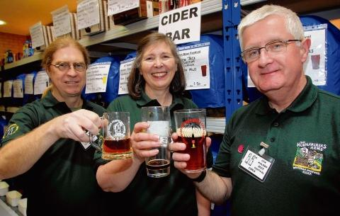 Maldon and Burnham Standard: Keith Bentley, Penny Baines and Chris Harvey at last year's festival