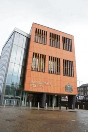 Ward admitted the charge at Colchester Magistrates' Court