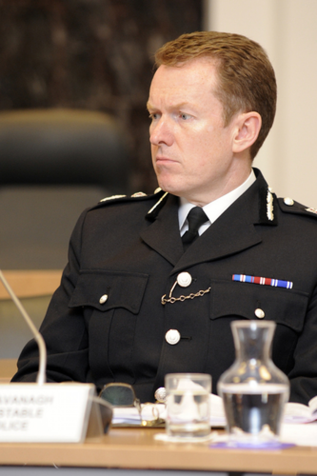 Firm line – Chief Constable Stephen Kavanagh
