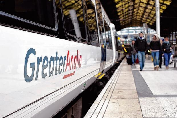 Commuters disappointed with Greater Anglia trains