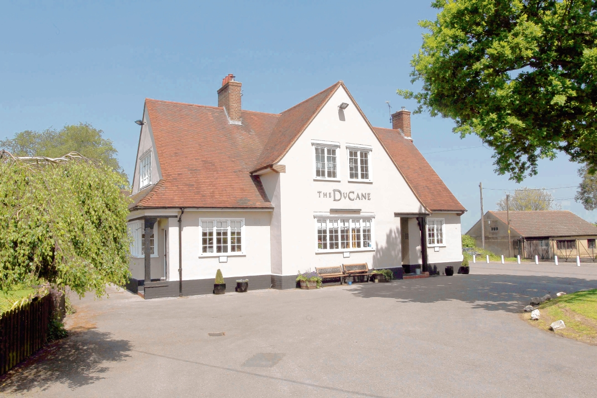 The DuCane Arms pub