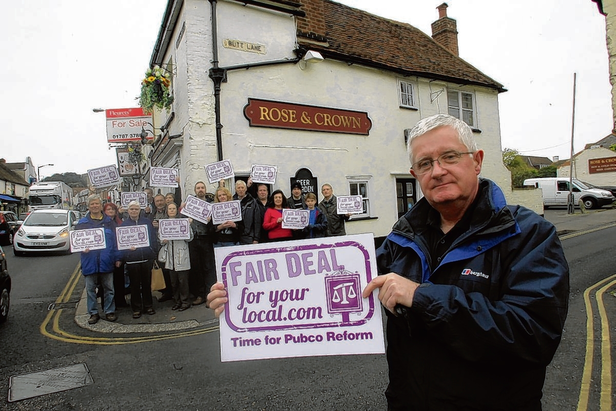 Campaigners who wanted to ensure the Rose and Crown stayed as a pub after it was put on the market last November