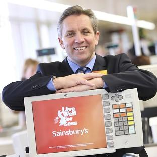 Boss Justin King said the seven days prior to Christmas was Sainsbury's busiest ever trading week.