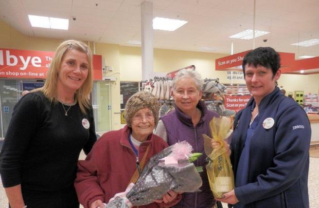 Maldon and Burnham Standard: Mary Irving celebrates with daughter Linda Roach