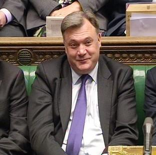 "Maldon and Burnham Standard: David Cameron says Labour ""hid"" shadow chancellor Ed Balls during Prime Minister's Questions"