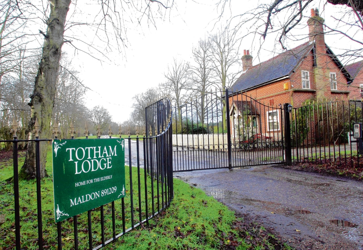 Totham Lodge care home in Broad Street Green Road