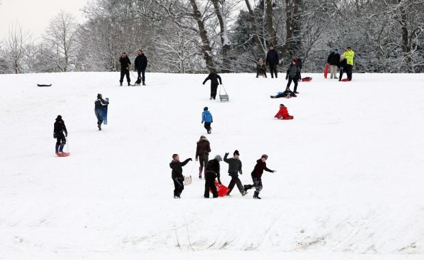 Maldon and Burnham Standard: Flashback to Hilly Fields, Colchester in January 2013