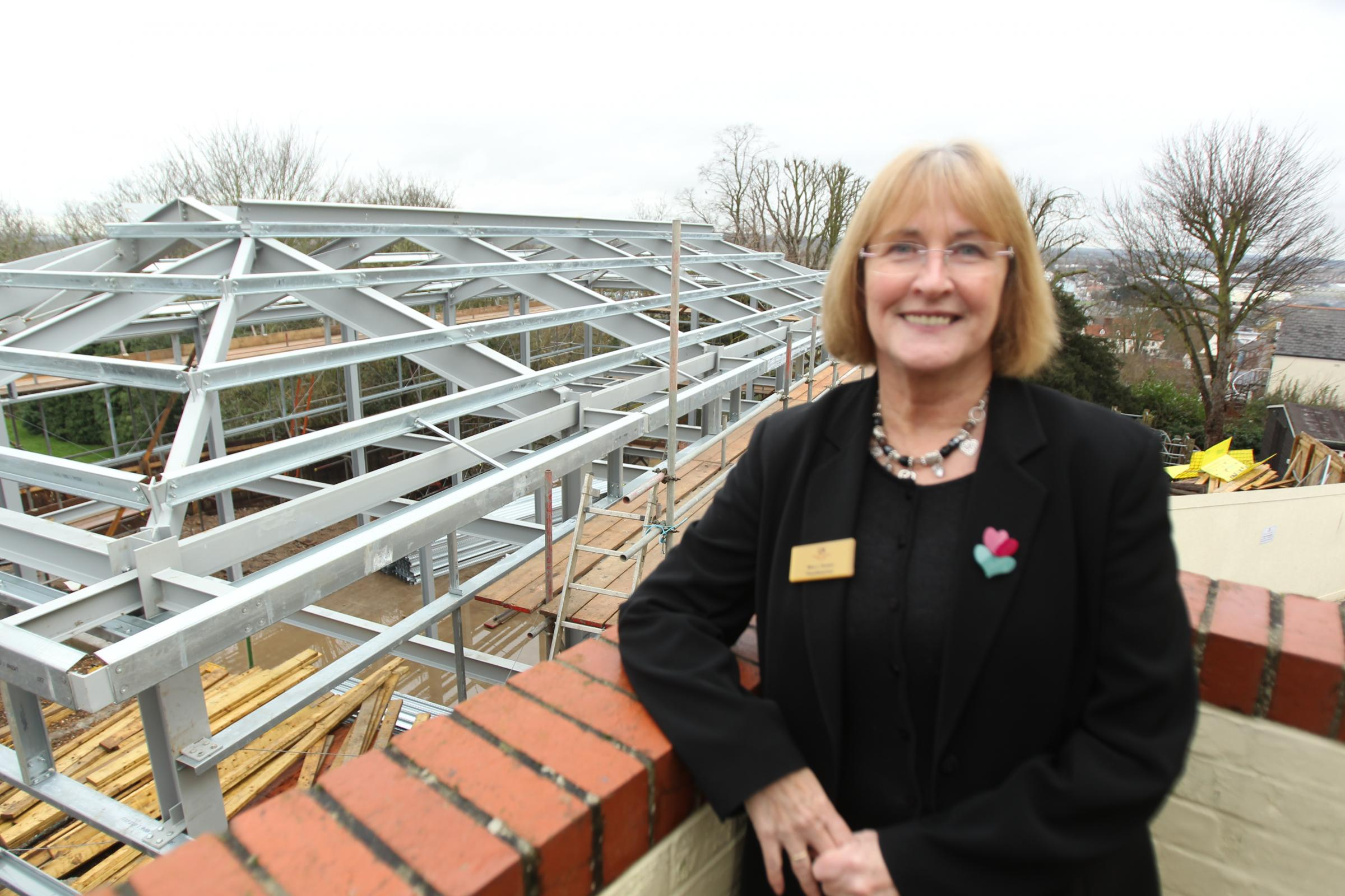 Maldon prep school builds new school hall