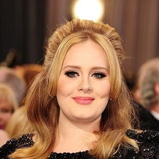 File photo dated 24/02/13 of Adele as a relative of the chart-topping global star is to be seen showing off her own abilities as a contestant on BBC1 talent show The Voice.